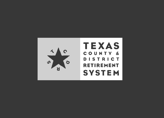 Texas County District & Retirement System logo
